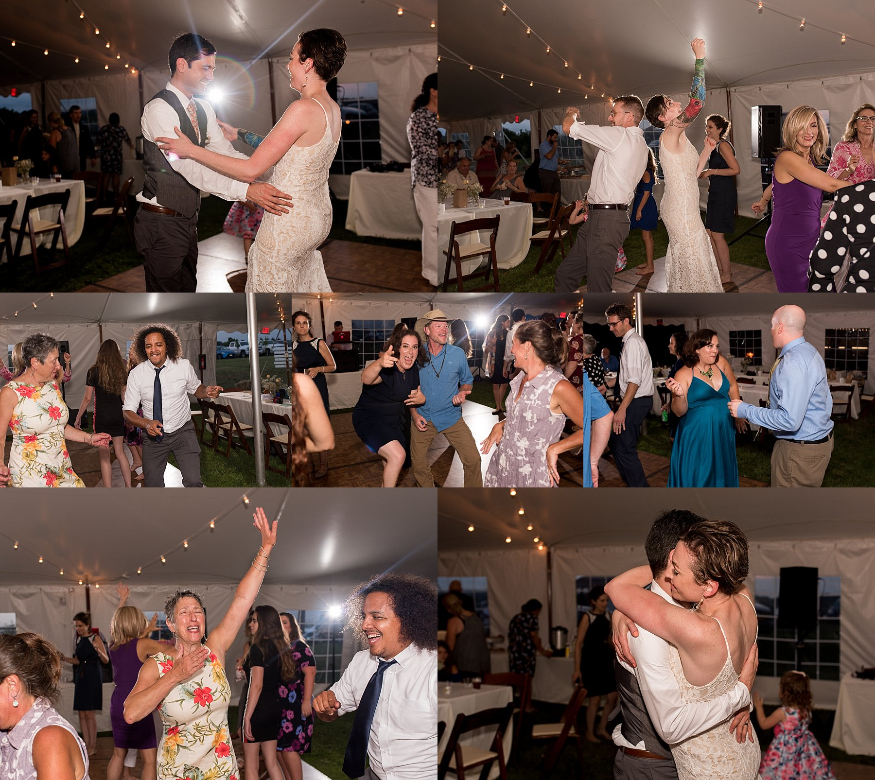reception photography at CT wedding