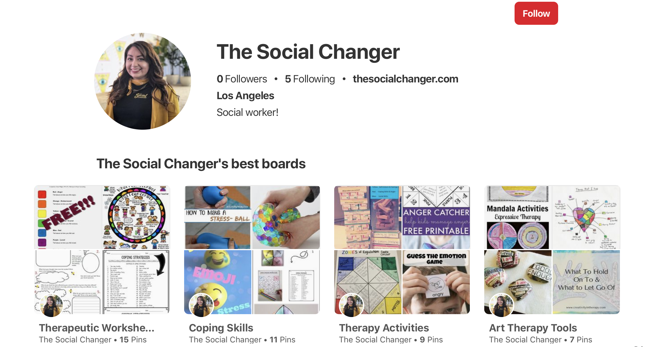 - Here is my Pinterest Page where I saved some of my favorite! Pinterest is a great resource to find multiple tools!https://www.pinterest.com/TheSocialChanger/boards/