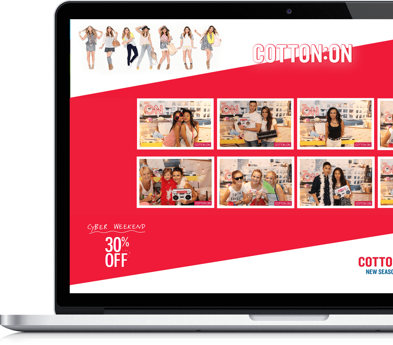 Maximise Brand Exposure - We improve your social media reach and brand awareness by creating custom overlays, emails, text message and website galleries all to match your brand.
