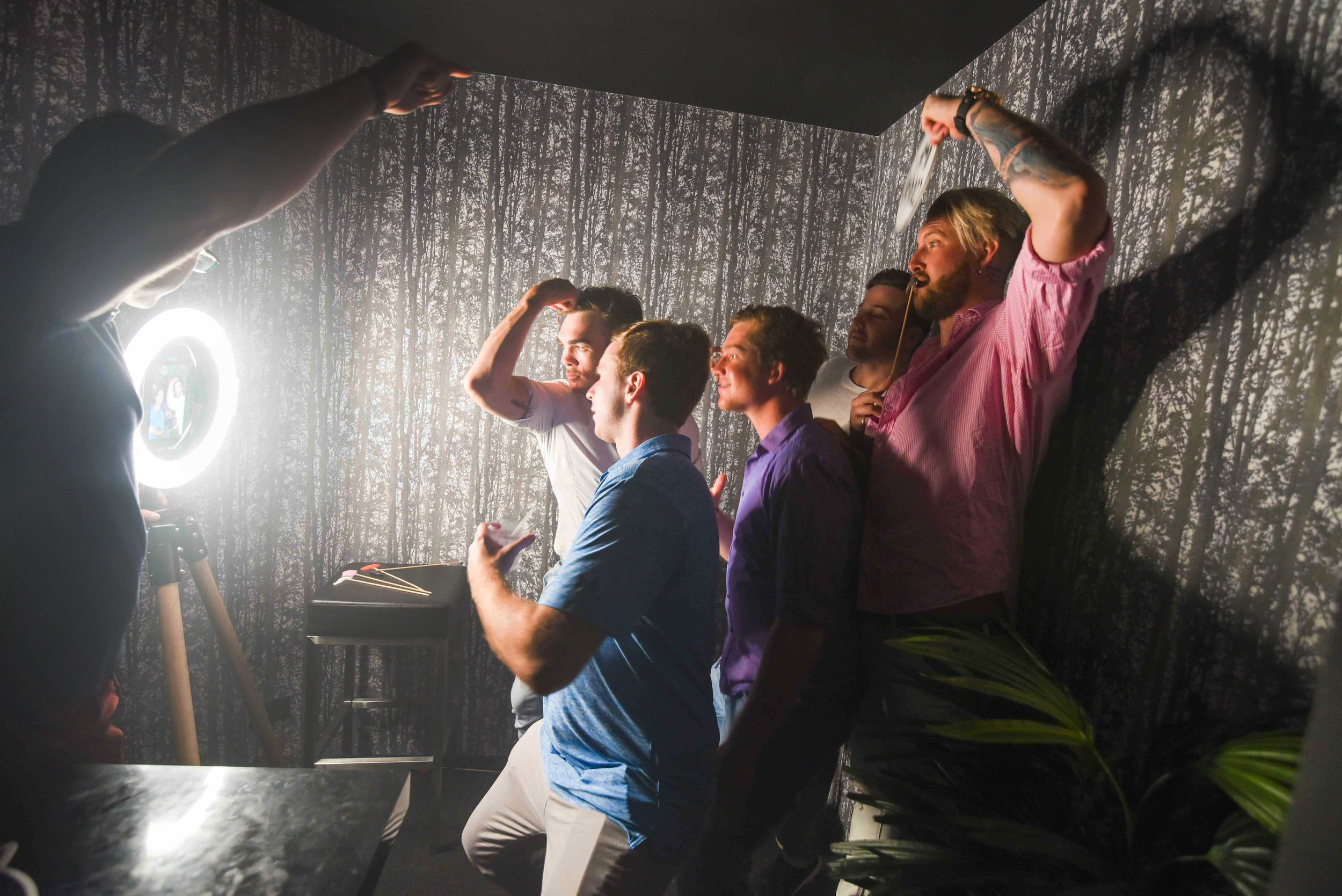 increase customer interaction - Our social photo booths are open air, stylish and are irresistibly fun.... lets be honest, who doesn't love a photo booth. Keep your guests entertained and coming back again and again.The more time they spend interacting with your brand, the more likely they are to remember it.