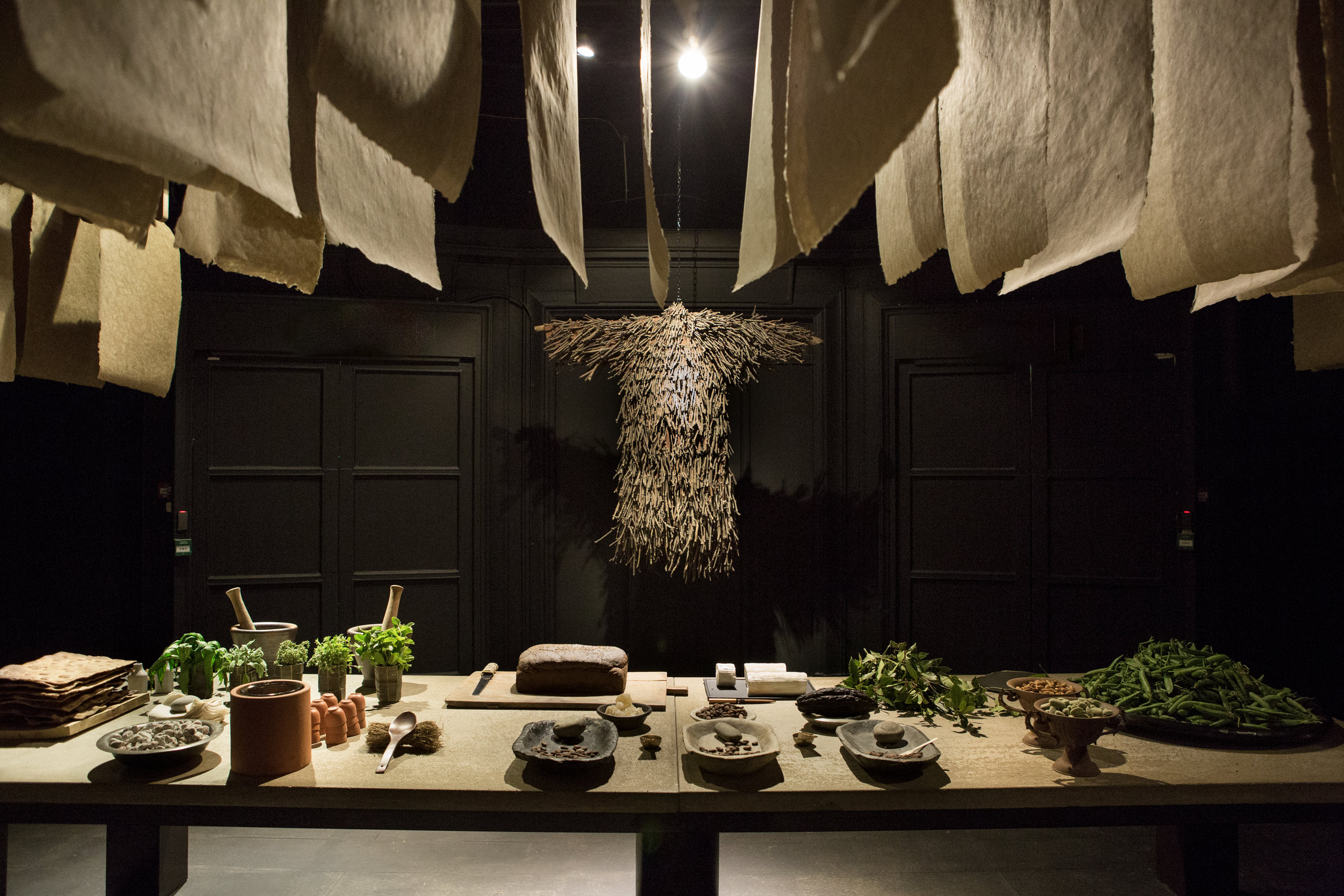 A Home for All, installation with The New Craftsmen & Selfridges (Photo by The New Craftsmen & Selfridges).