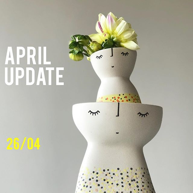 Put it in the diary! April Shop Update on Thursday 26 April at 9am (AEST - Sydney) check out what's new this month via the link in my profile.