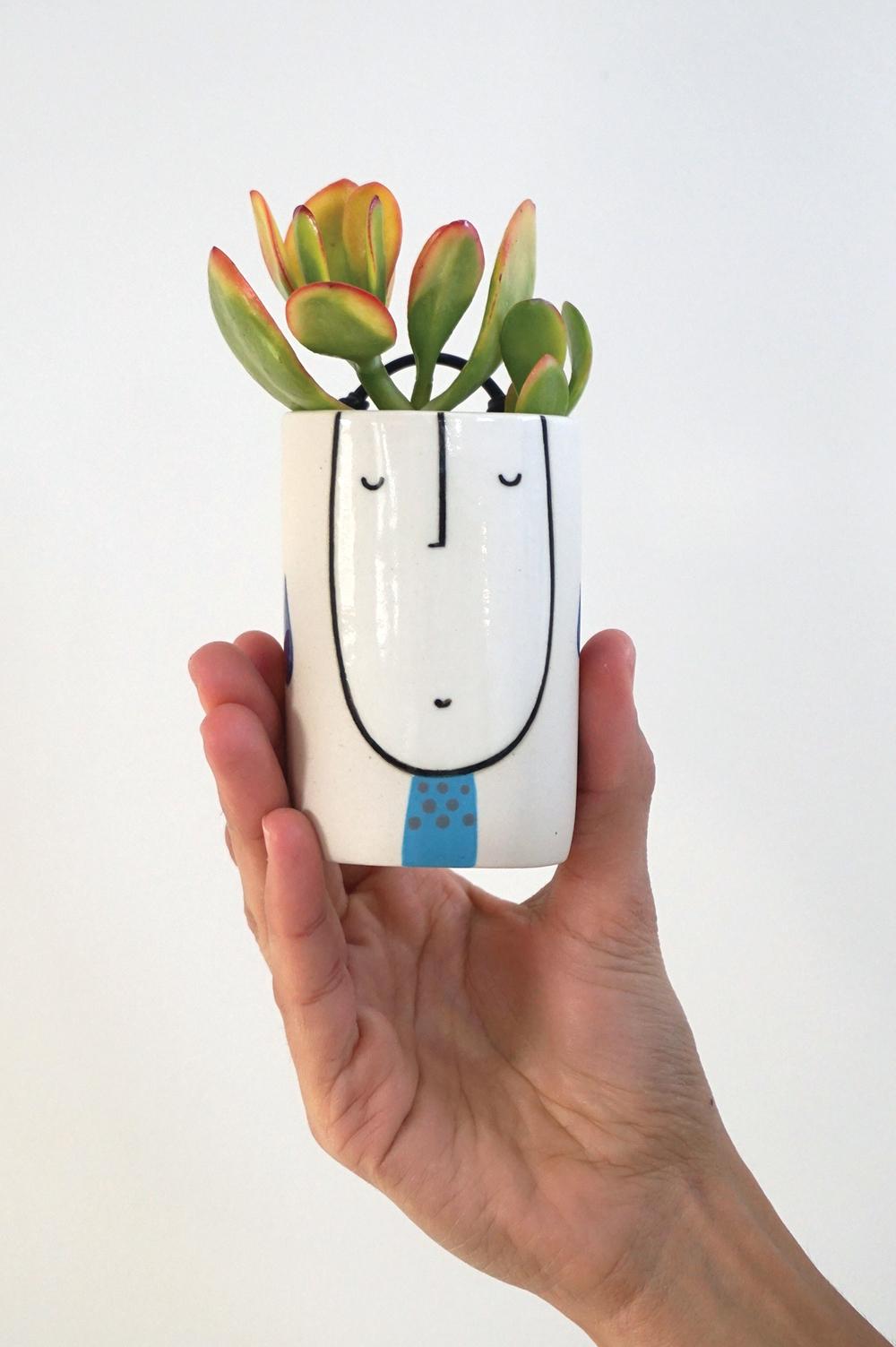 Little wall planter guy $45