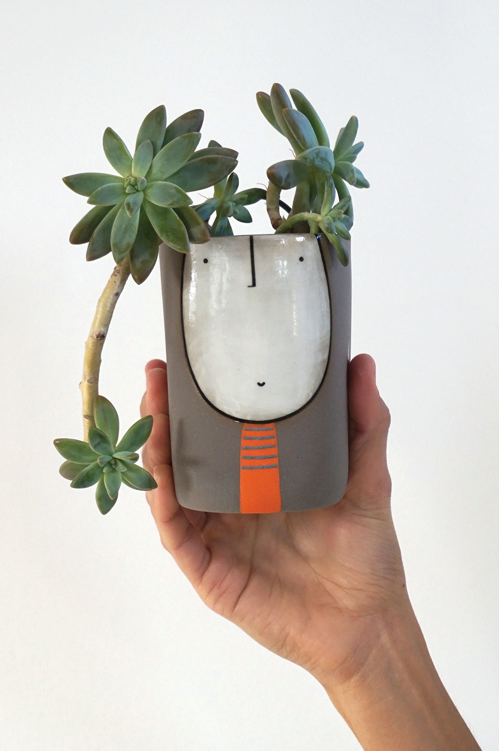 Middle wall planter guy $65