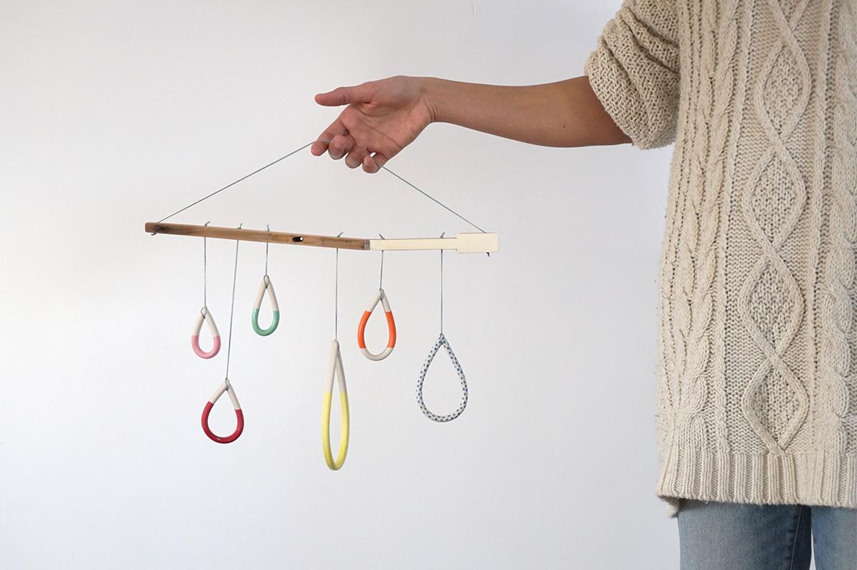Happy Rain Hangers $140