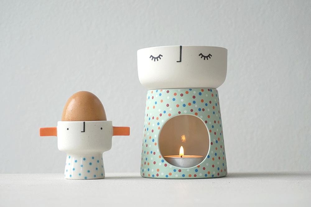 Egghead & Burner Babe