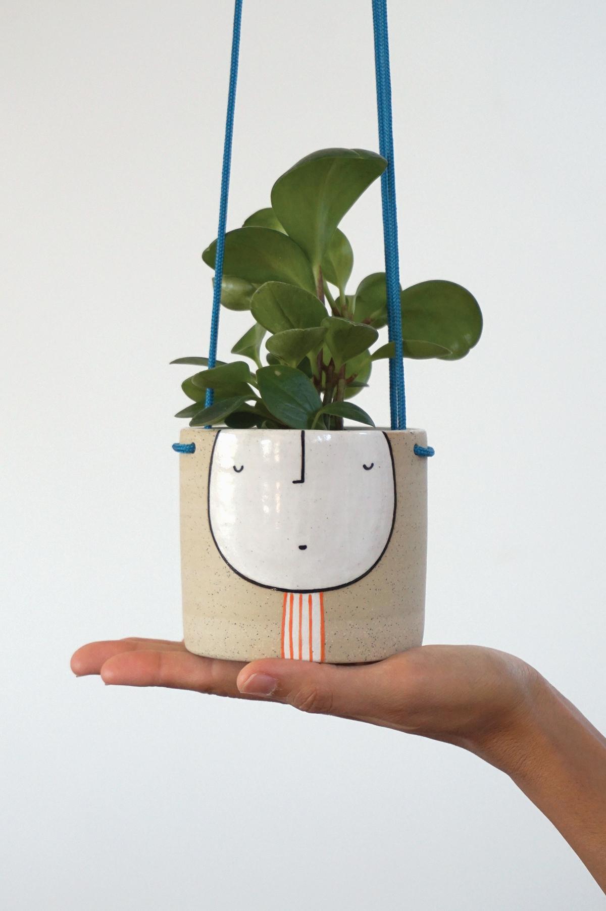 Hanging Guy Planter $85