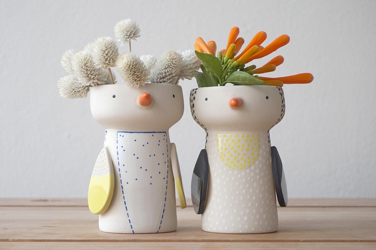 Birdy Vases