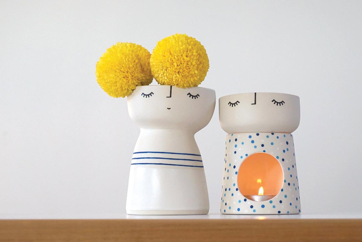 Tween Vase Peep & Burner Babe