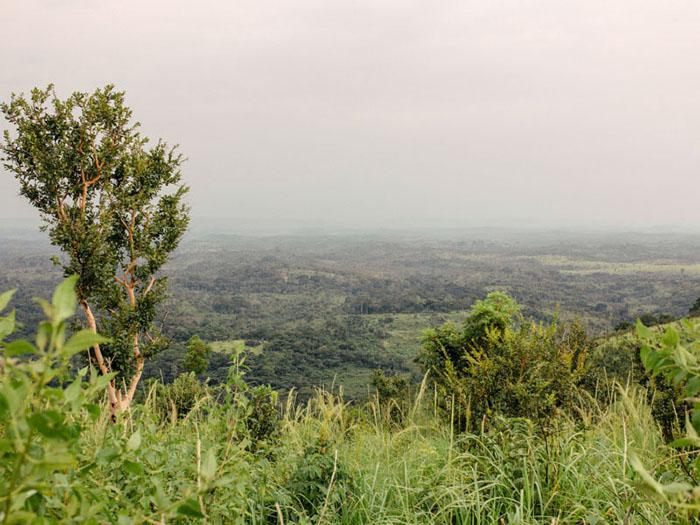 View in the hills - Democratic Republic of Congo.