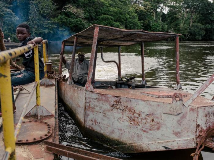 Barge captain.