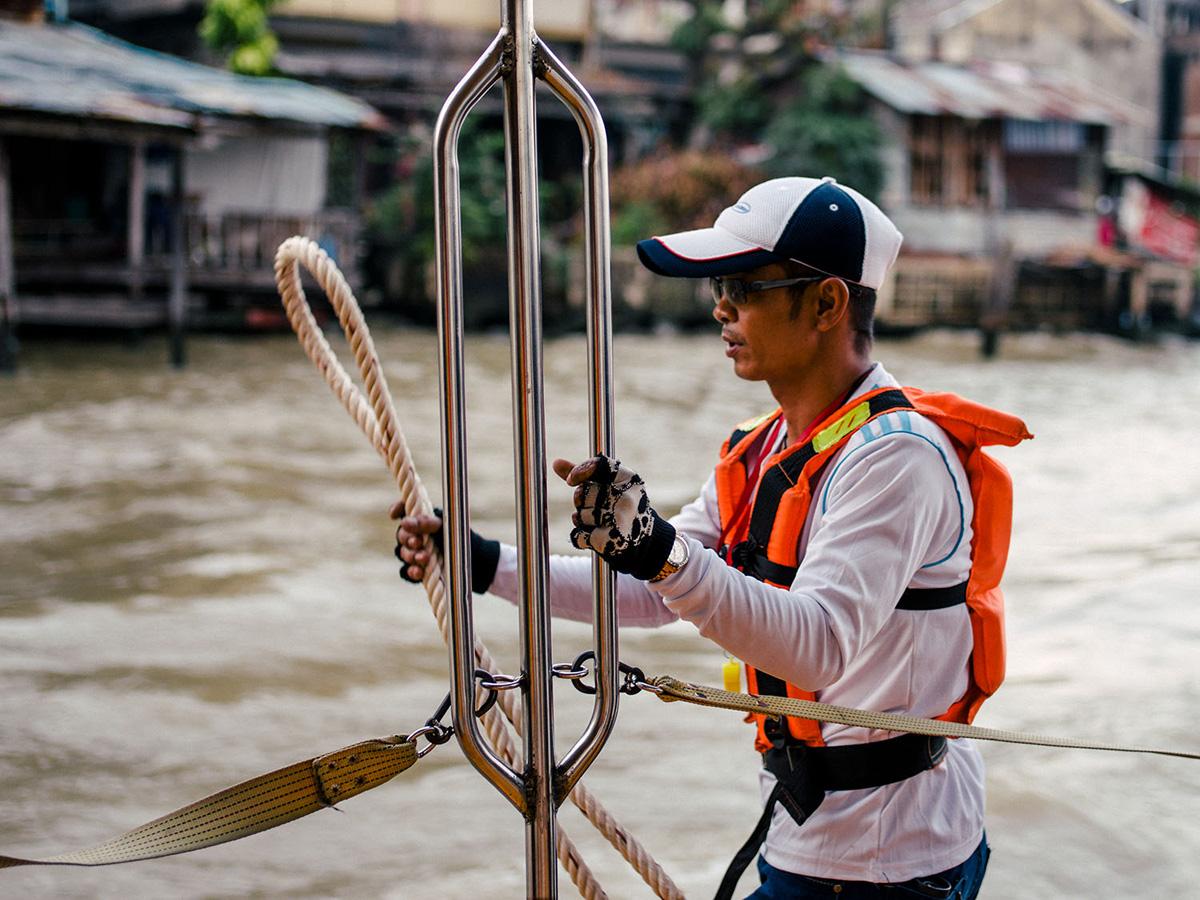 Chao Phraya river express.