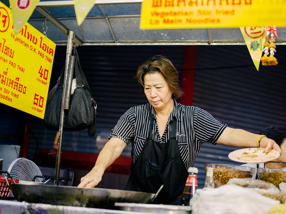 Streetfood vendor.