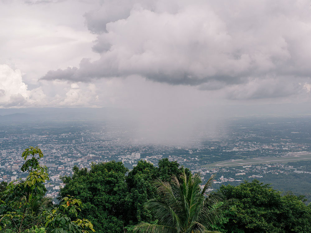 View from Doi Suthep, Chiang Mai.