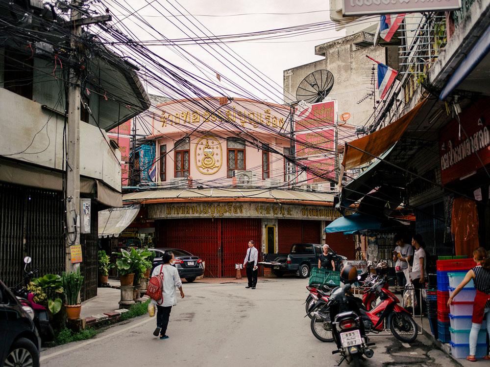 Warorot market area, Chiang Mai.