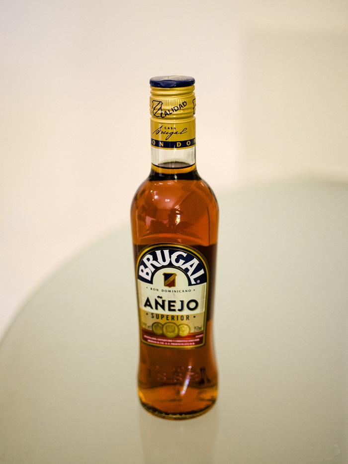 Mystery bottle of rum.