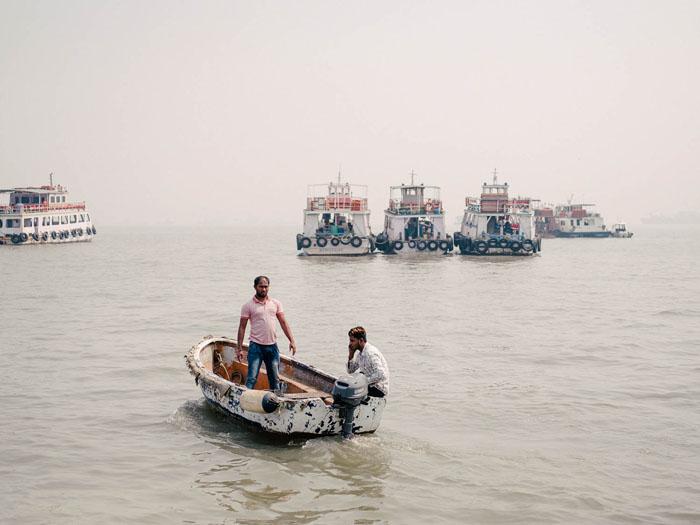 Mumbai Harbor.