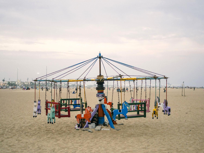 A carrousel.