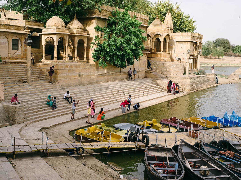 Gadisar Lake in Jaisalmer.