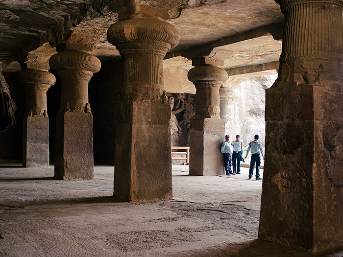 Elephanta caves. One of those attractions with ridiculous fees...