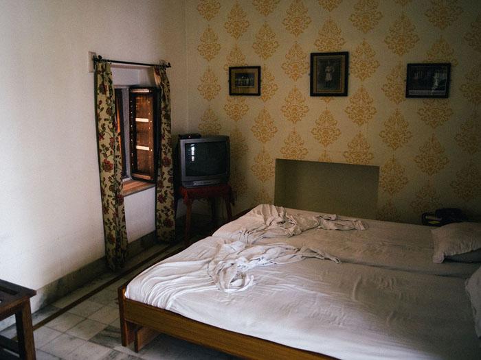 Bikaner guesthouse room.