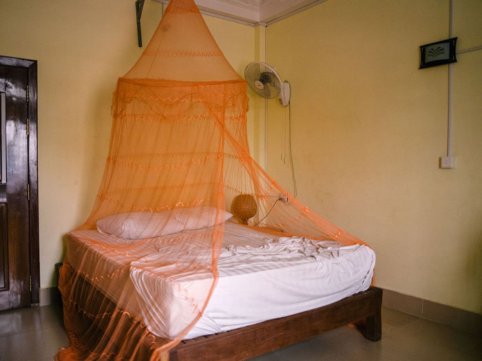Guesthouse in Kratie, Cambodia.