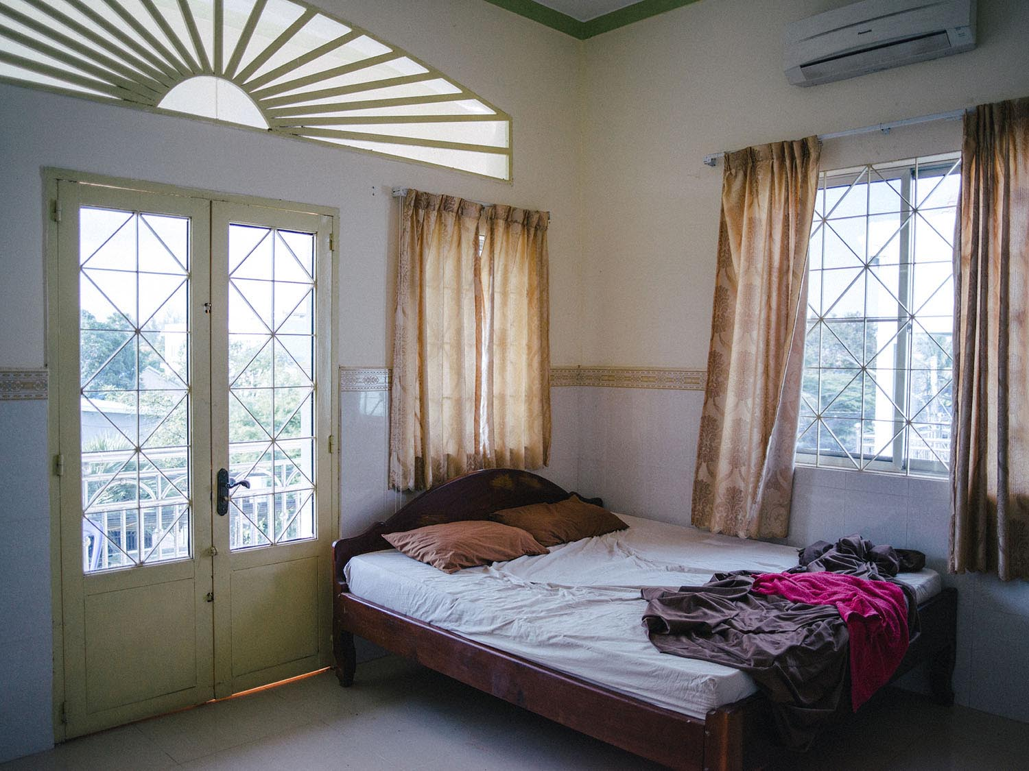 Guesthouse in Kampot, Cambodia.
