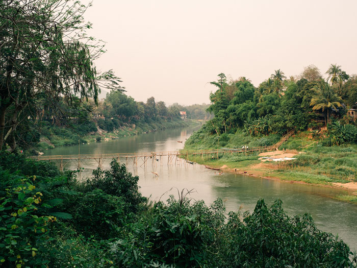 One of many beautiful views in Luang Prabang.