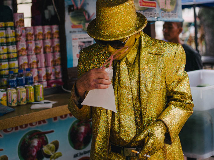 Million Dollar Man. Malacca, Malaysia.