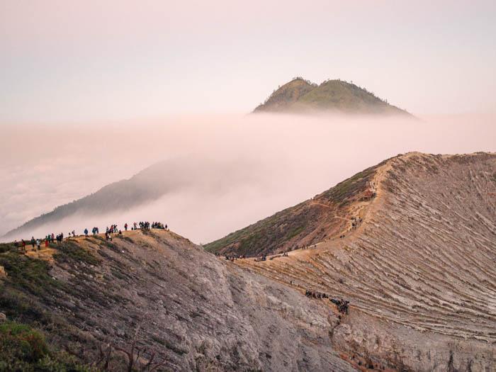 Mount Ijen, Indonesia.