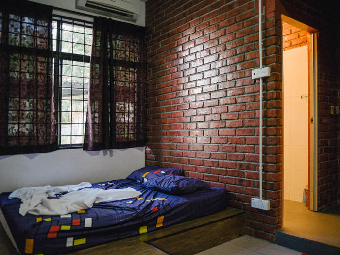 Guesthouse in Malacca.