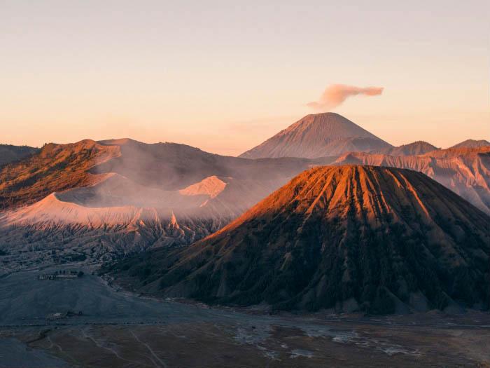 Might Mount Bromo Photo Print.