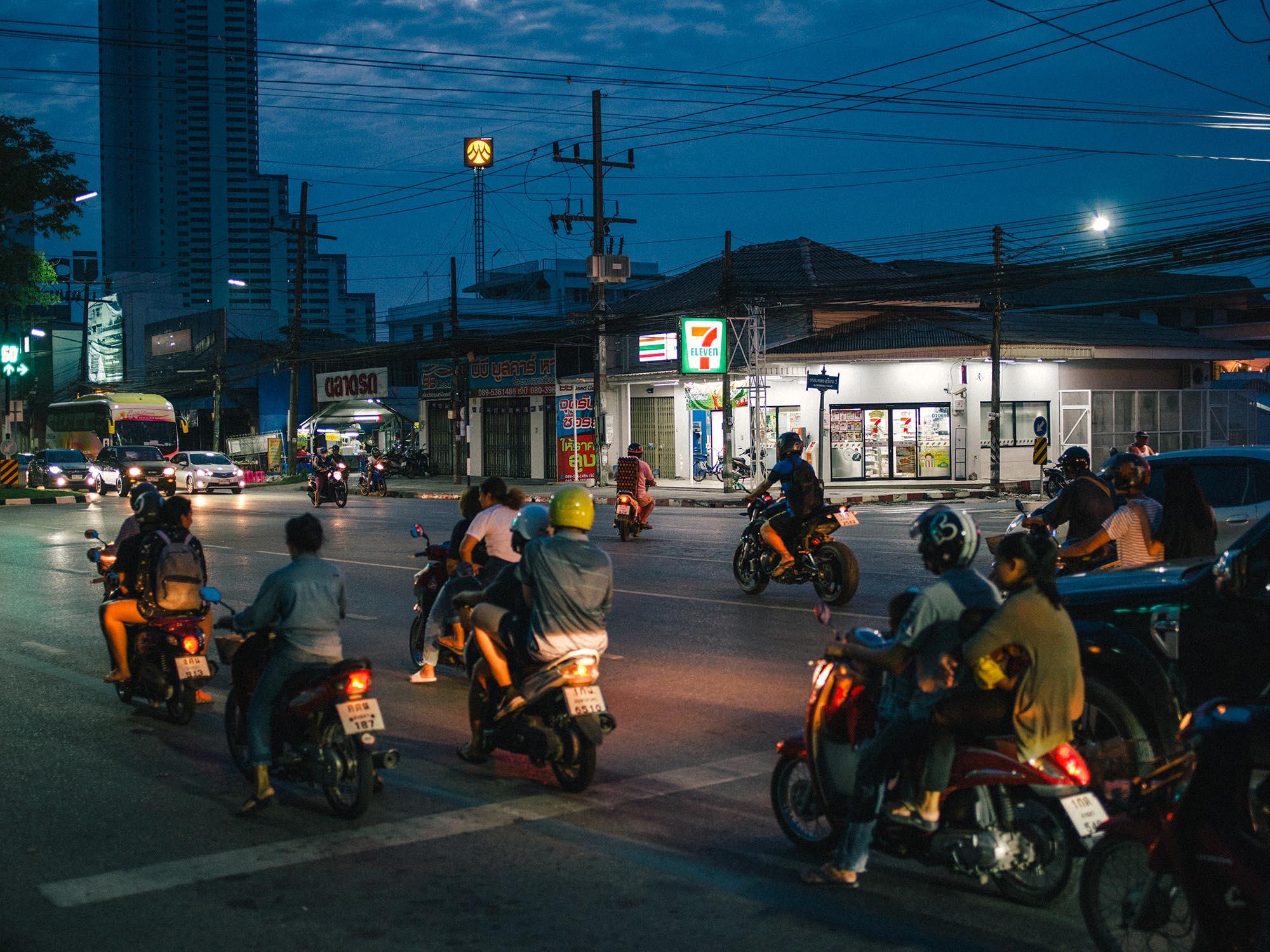 Street photography in Hat Yai.