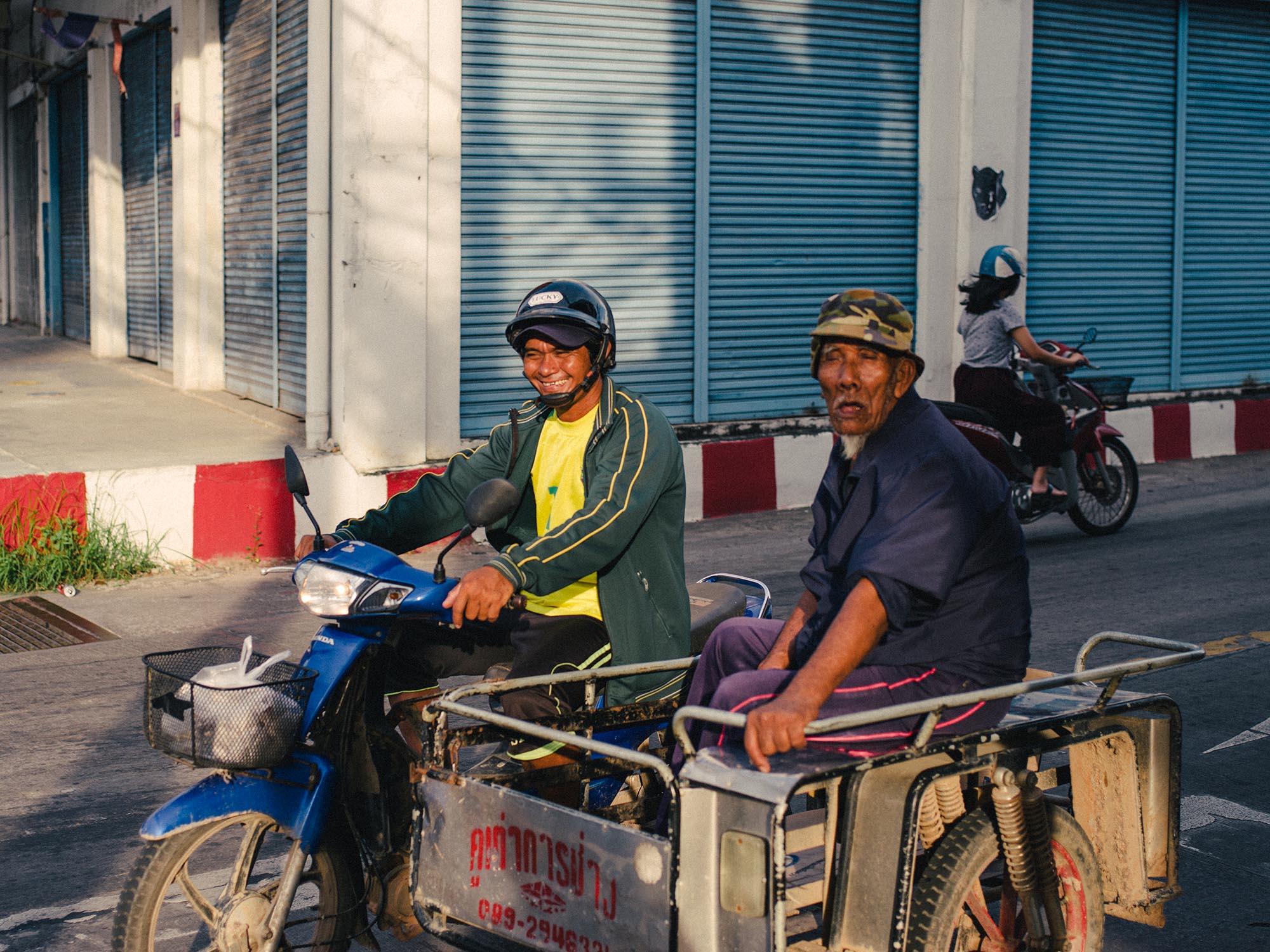 Street photo, Thailand.