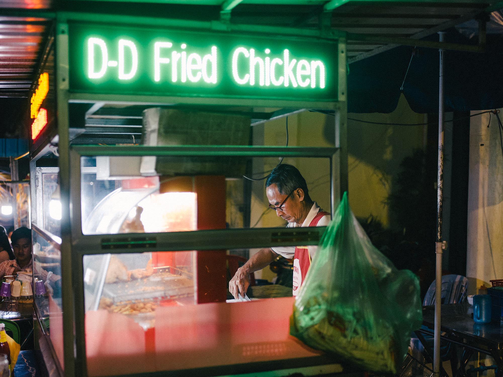 Fried chicken is everywhere!