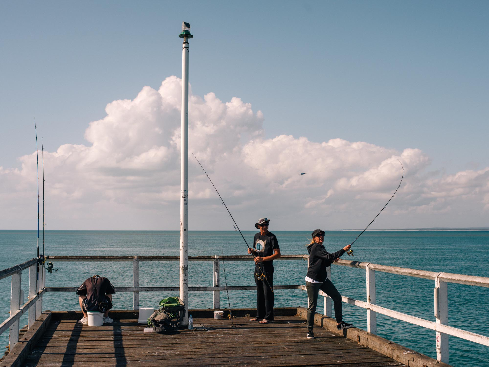 Pier, Hervey Bay.