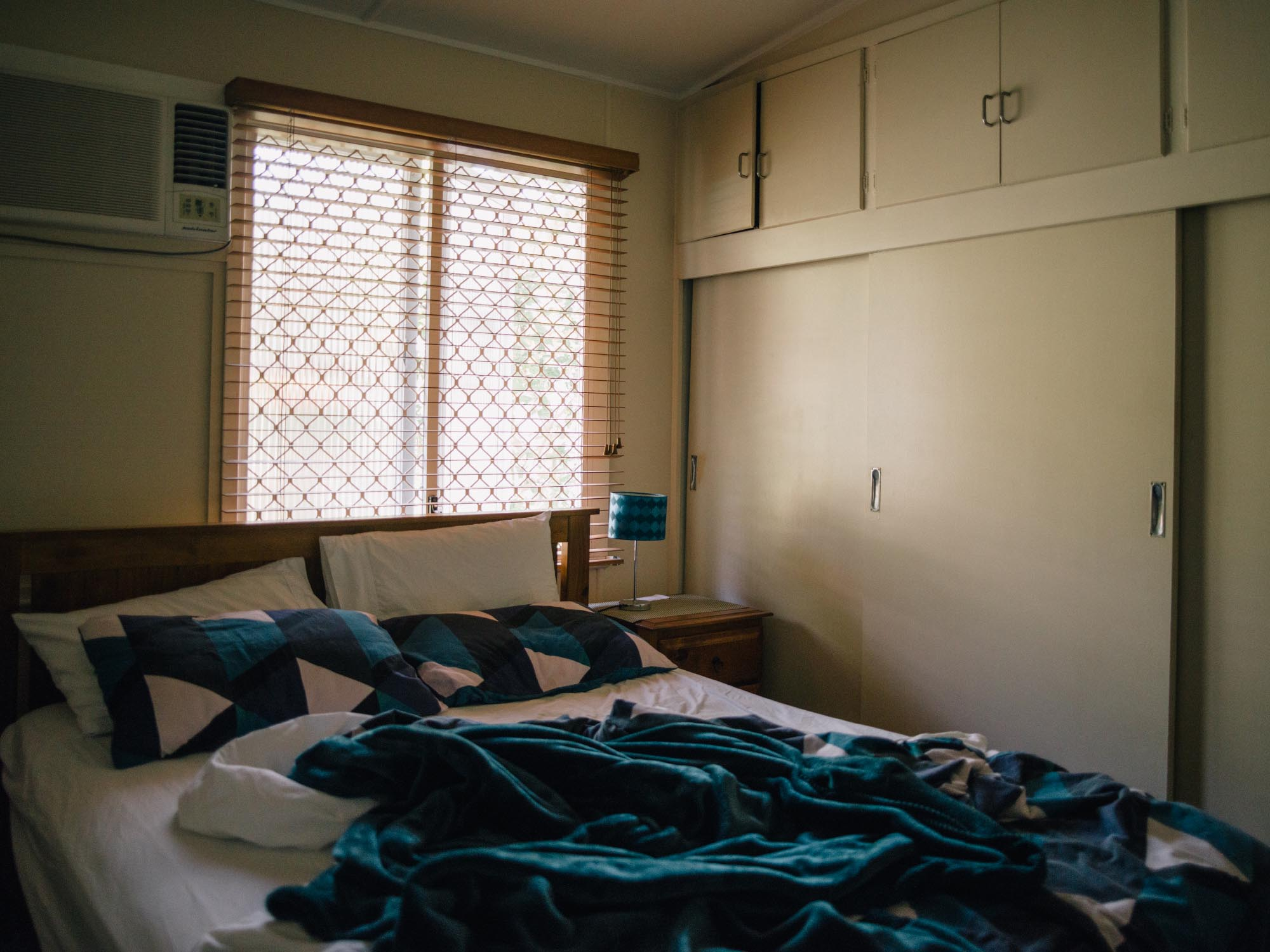 Our favorite airBnb room in Australia. Rob's place!