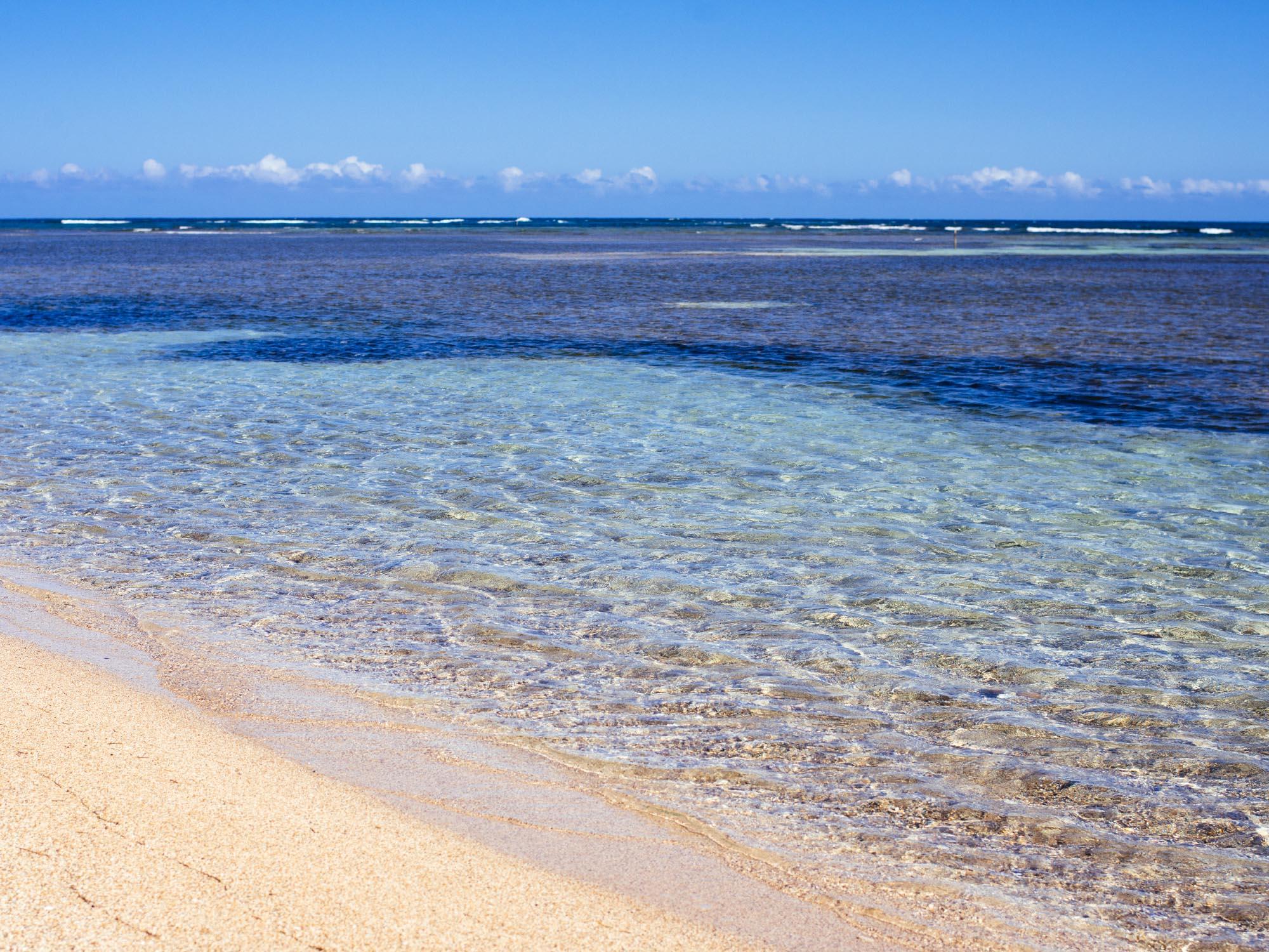 Buen Hombre Beach.