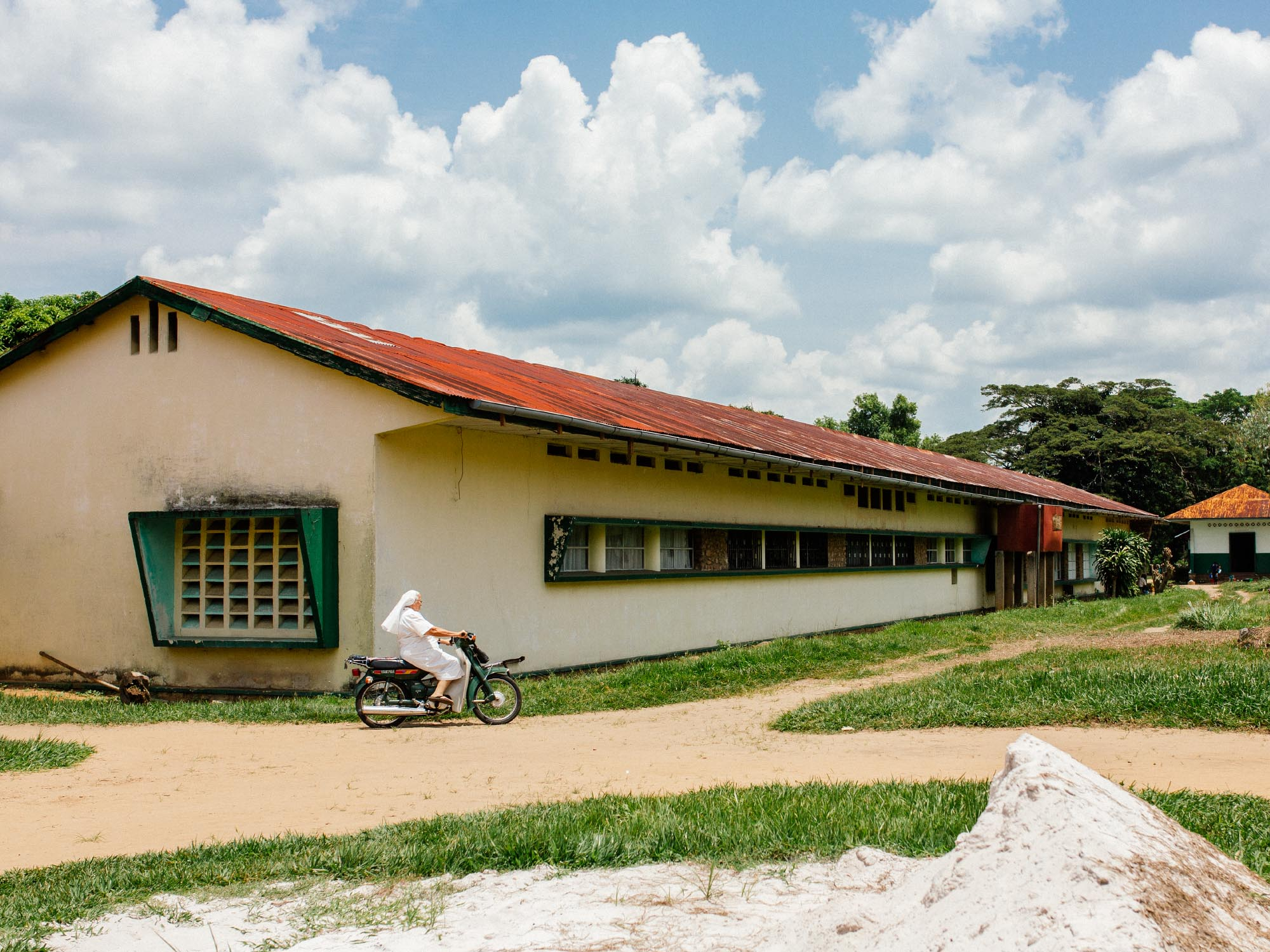 My first assignment: Three weeks in a hospital in the Democratic Republic of Congo.