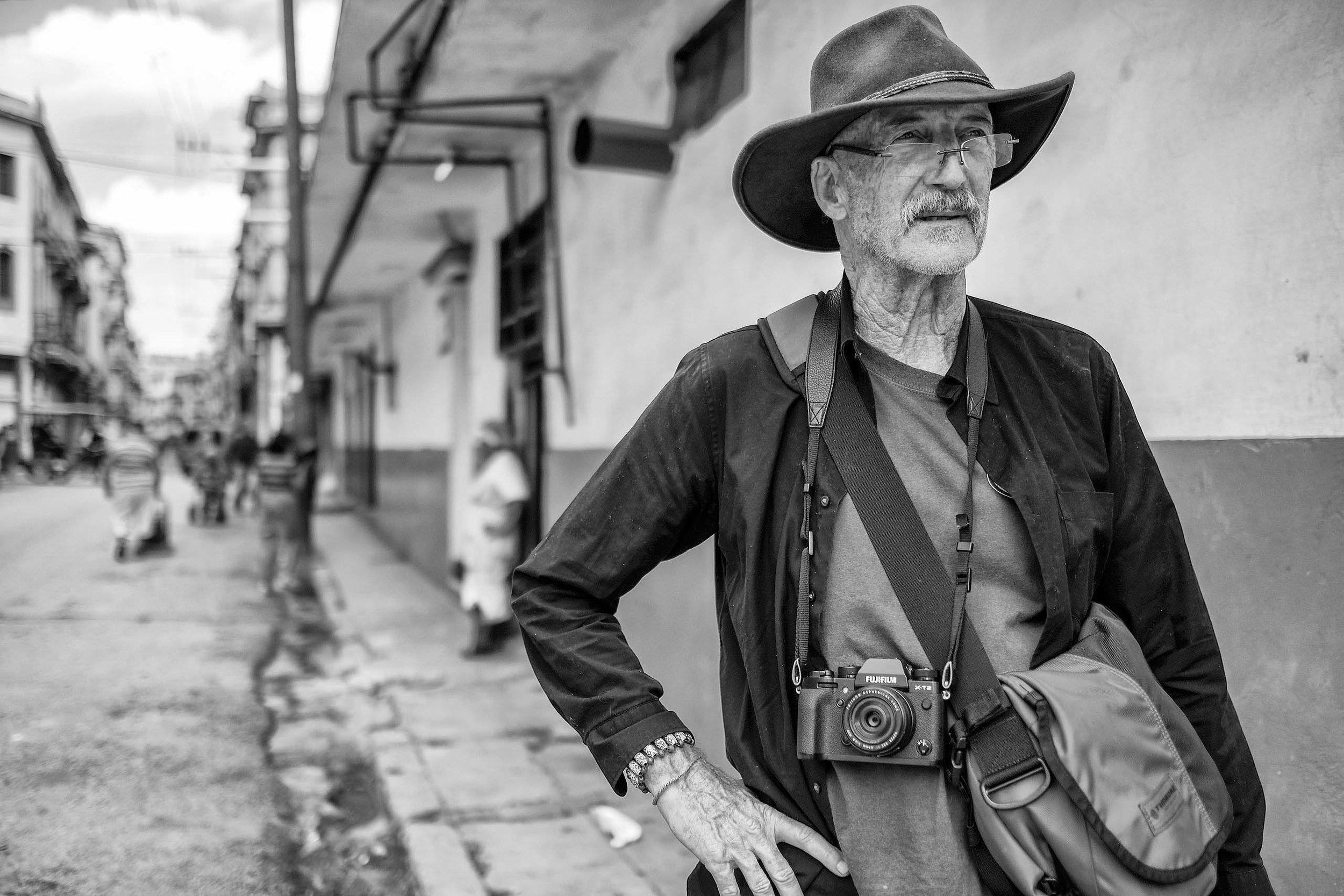 David Alan Harvey in Havana.