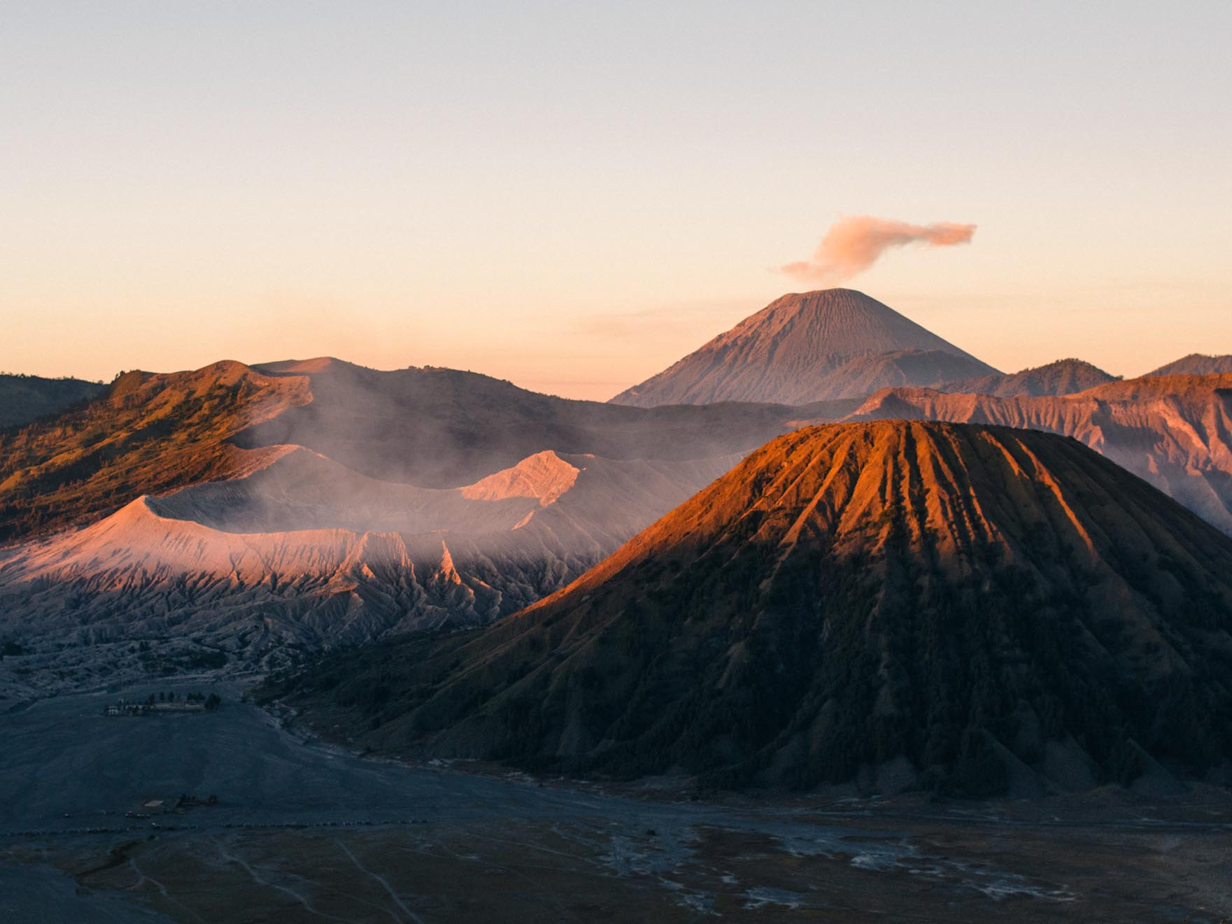 The Mount Bromo Sunrise, one of the most epic views ever...  Prints available in the print shop.