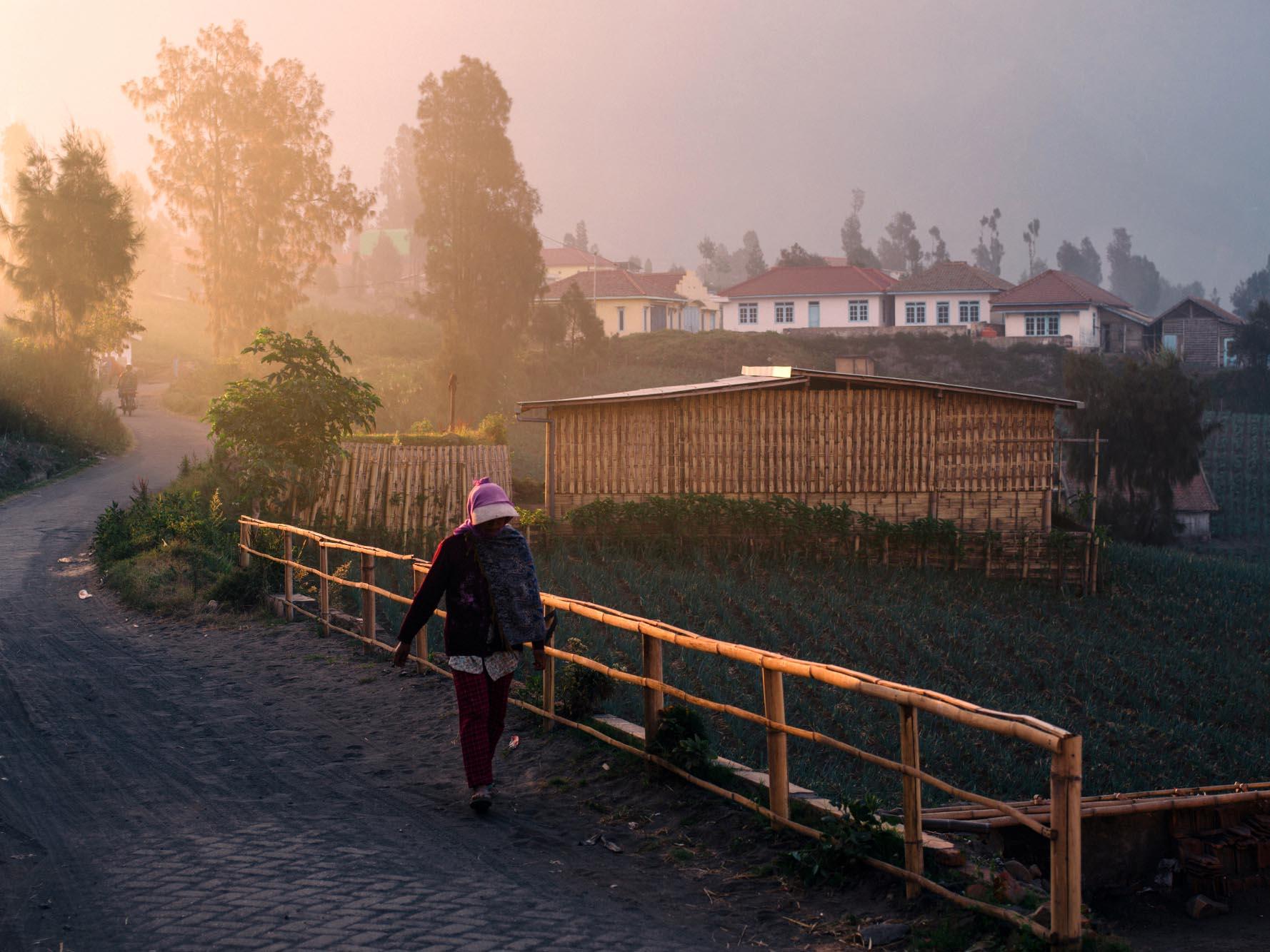 Sunset in Cemoro Lawang.