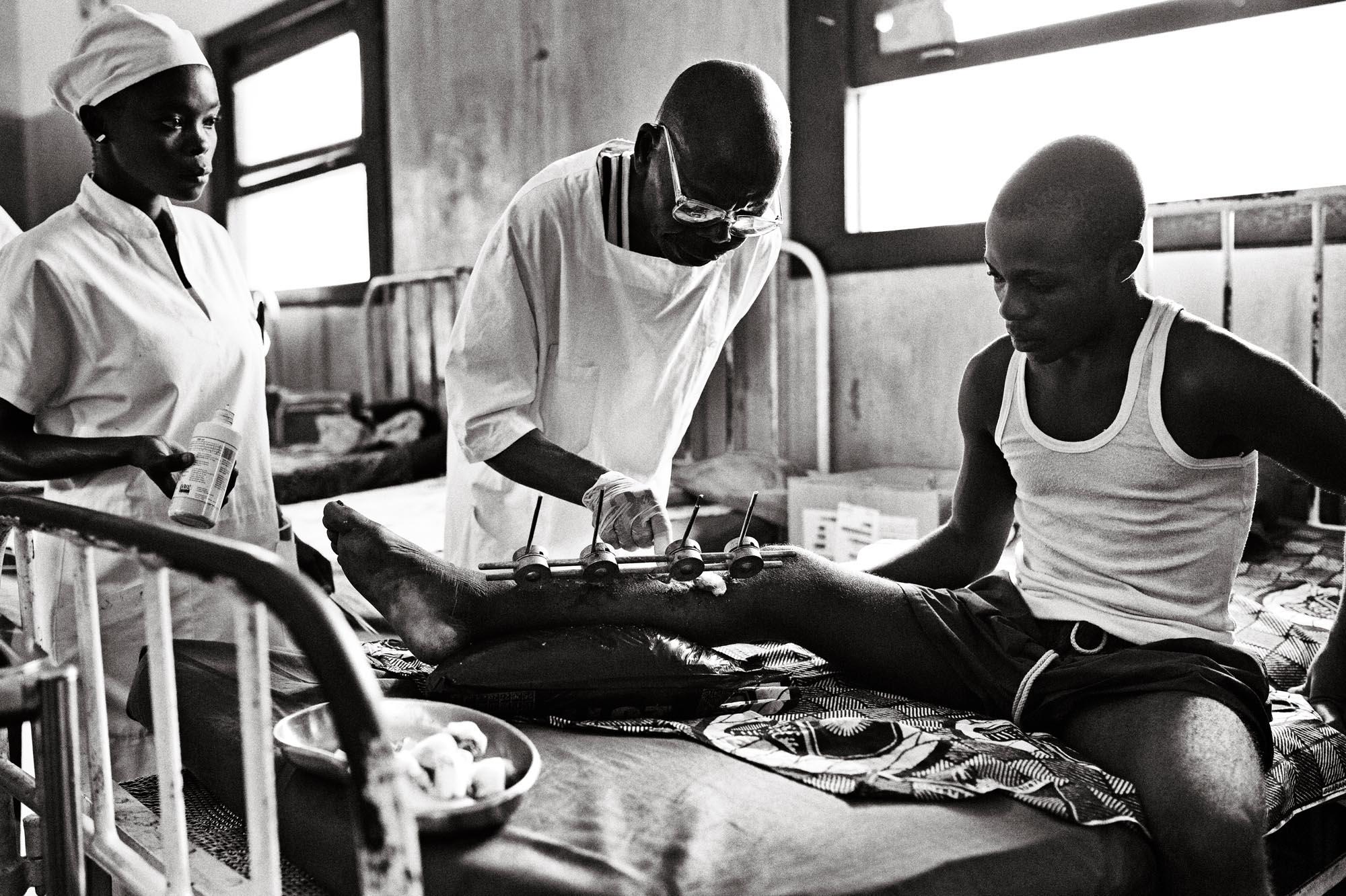 Mosango Hospital, Democratic Republic of Congo. 2013.