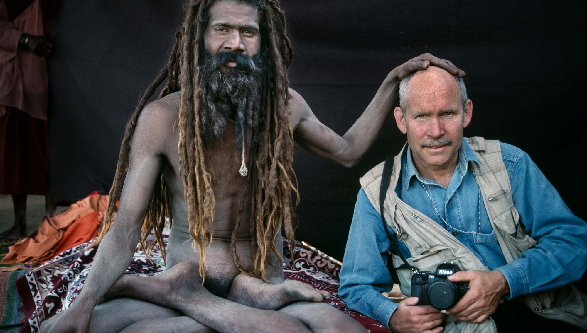 Steve McCurry in India.