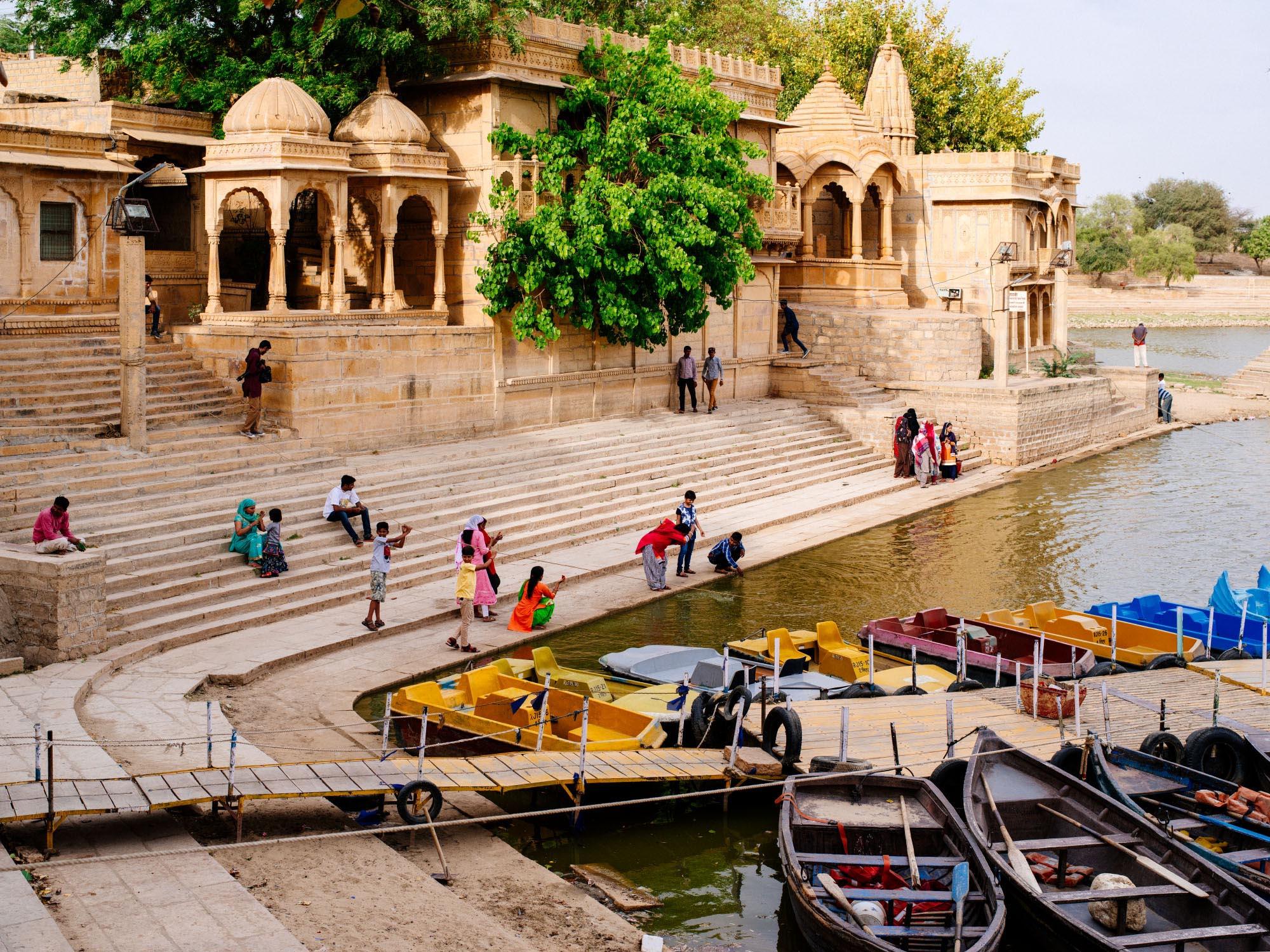 Gadsisar Lake, Jaisalmer.