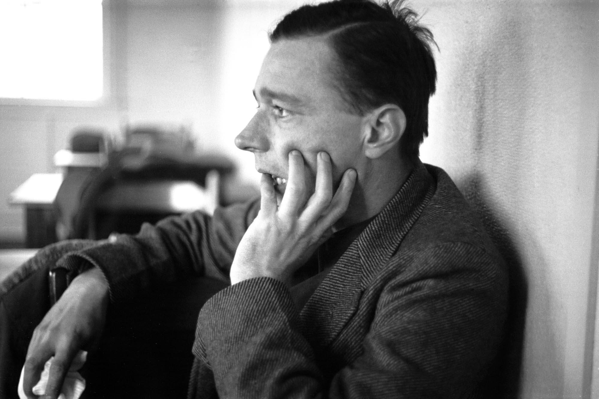 Walker Evans in 1937.