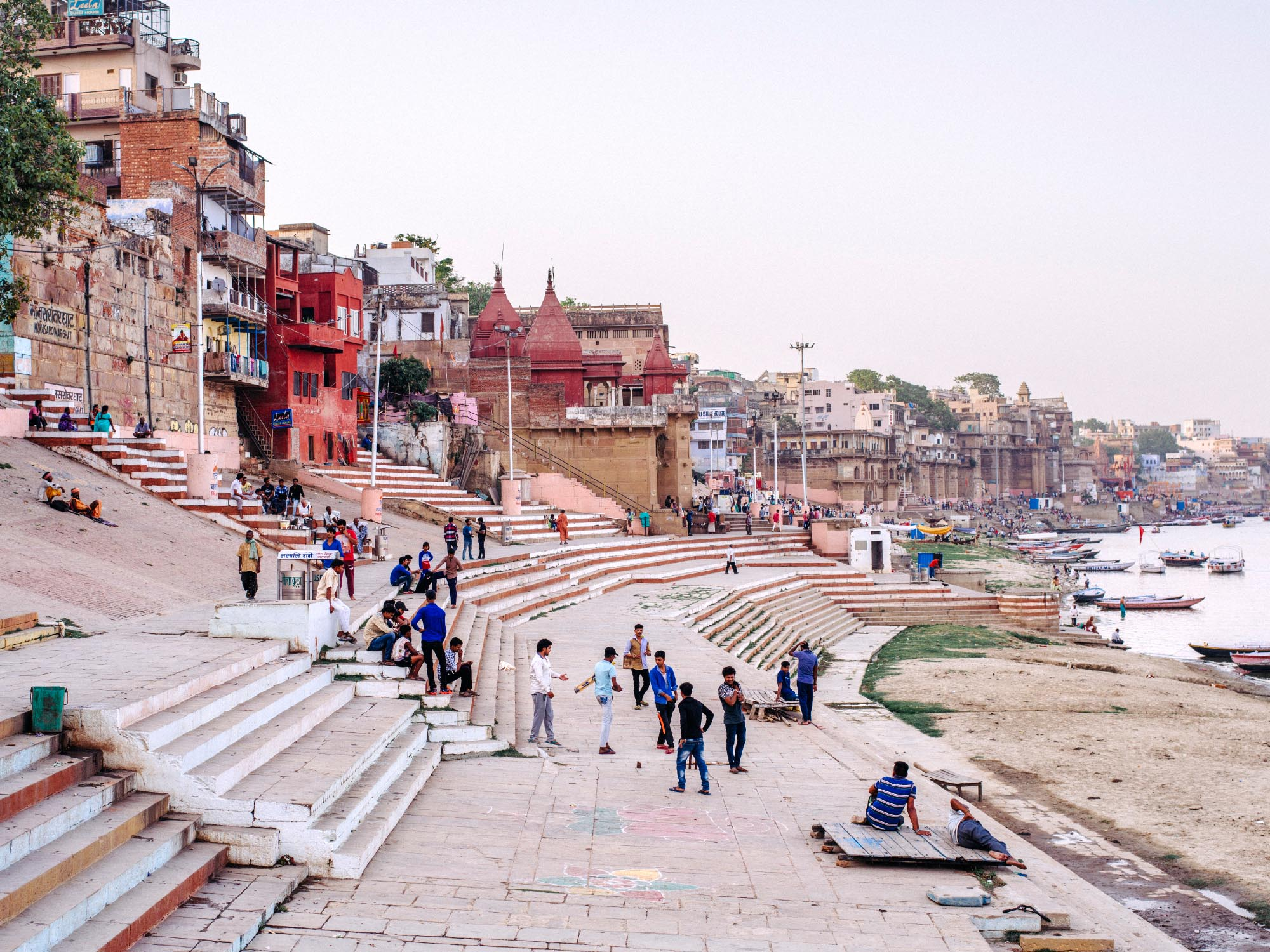 The Ghats of Varanasi.
