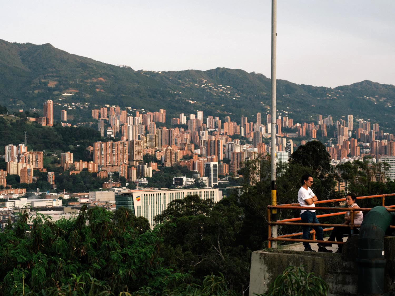 Cerro Nutibara viewpoint.