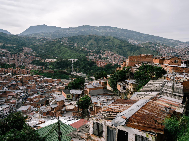 Comuna 13 viewpoint.