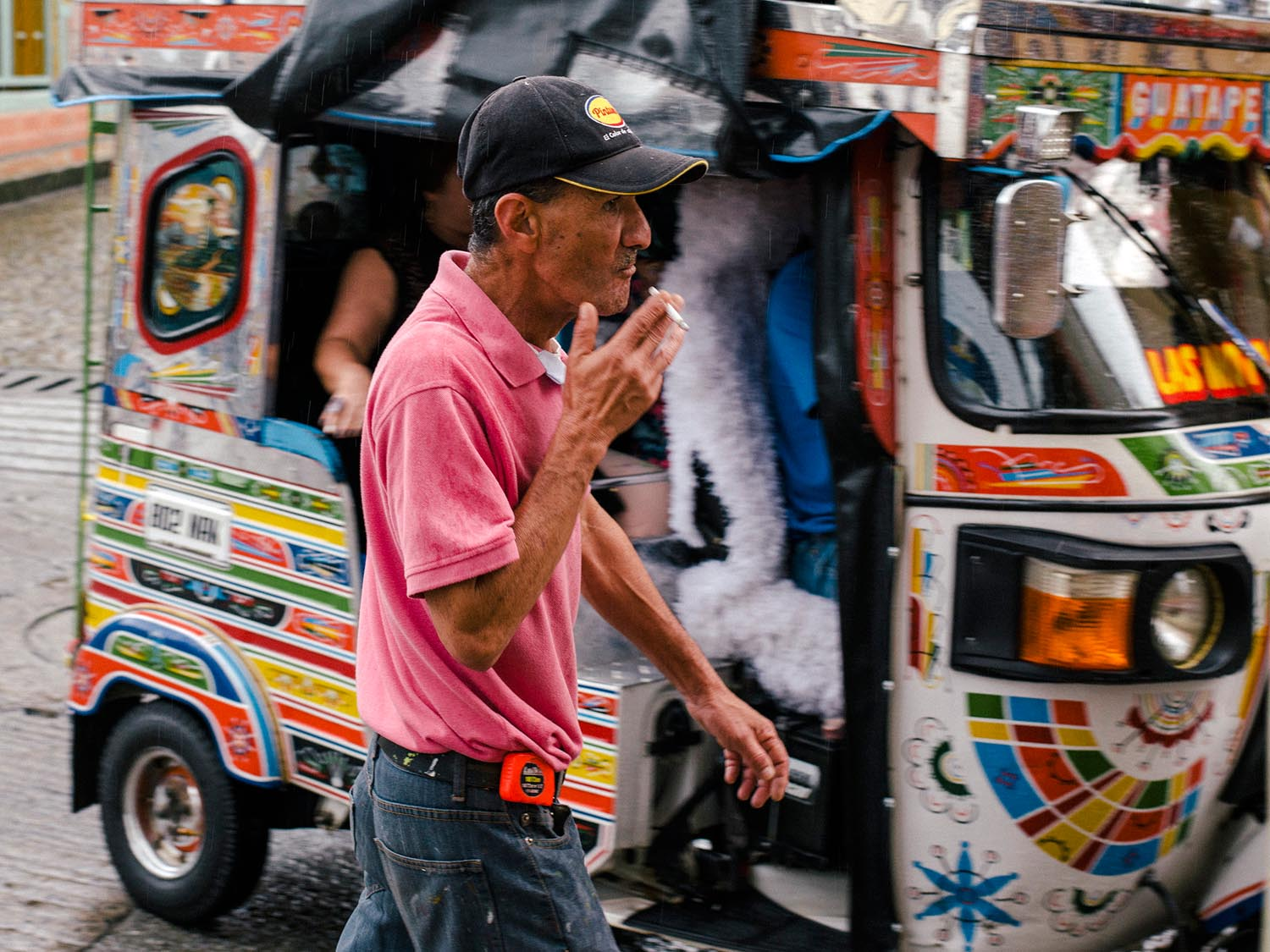 Yep, tuktuks exist also in Colombia…
